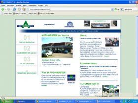 Aktualität der Website