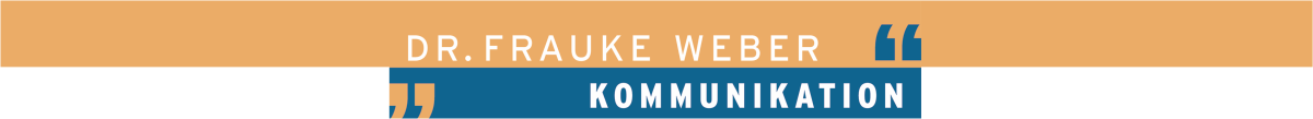 Dr. Frauke Weber Kommunikation Logo