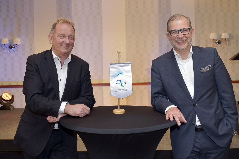 Partslife Geschäftsführer Franco Jutrczenka und Daniel Grub